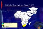 middle east africa 2001 2002