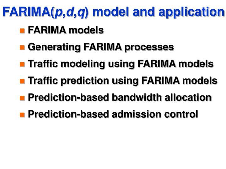 FARIMA(