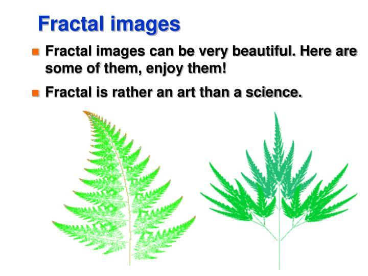 Fractal images