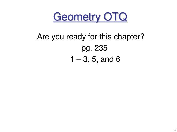 Geometry otq