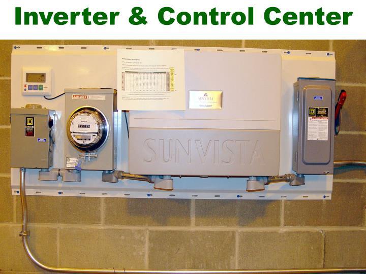 Inverter & Control Center
