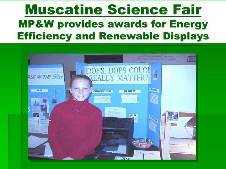 Muscatine Science Fair