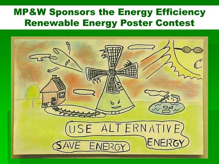 MP&W Sponsors the Energy Efficiency