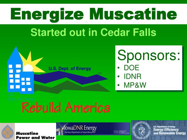 Energize Muscatine