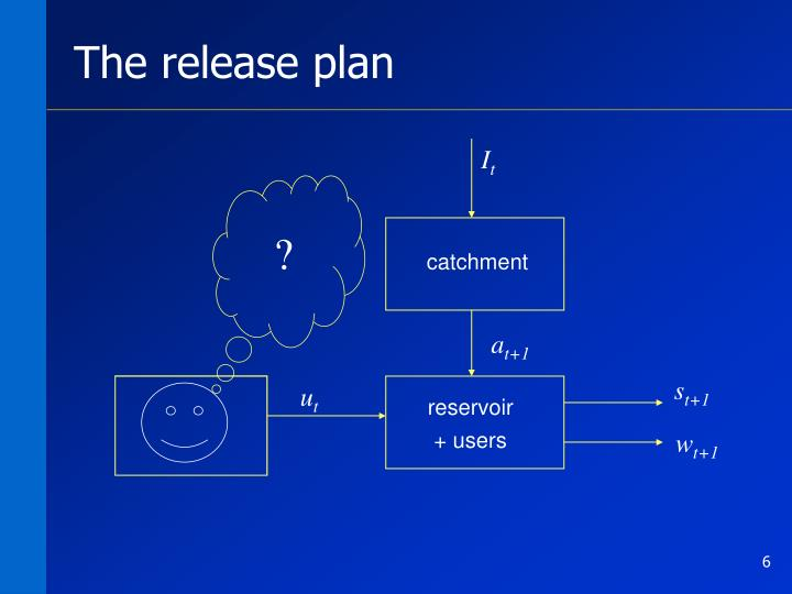 The release plan
