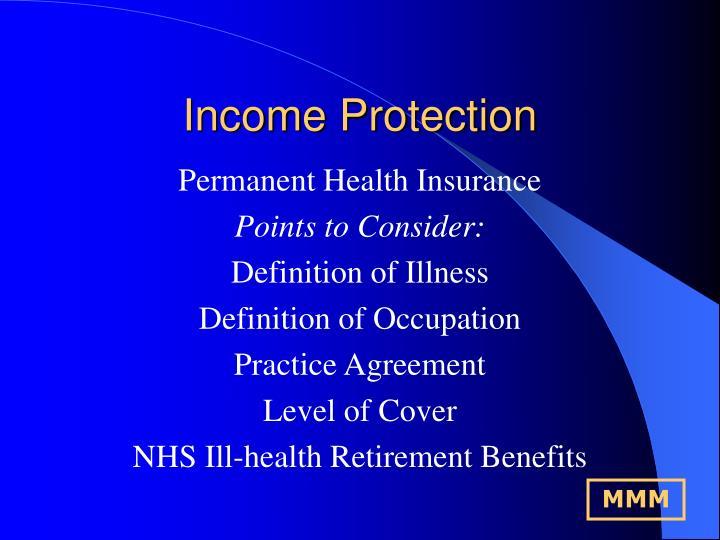 Income Protection