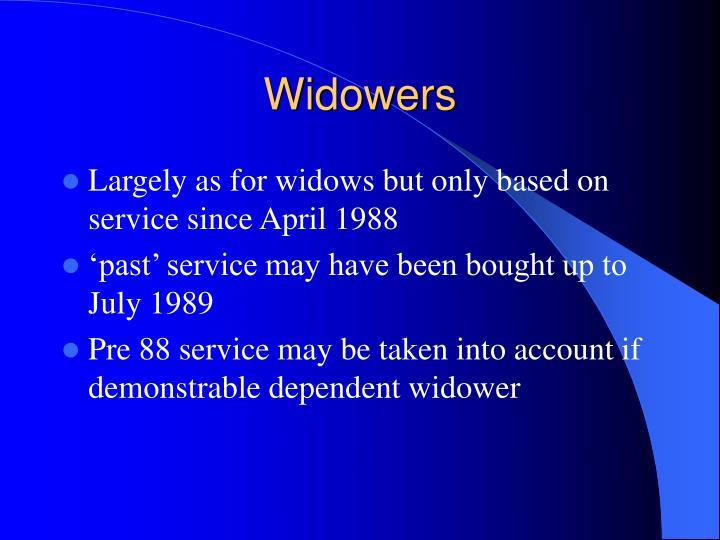 Widowers