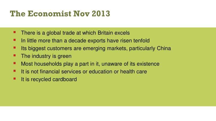 The Economist Nov 2013