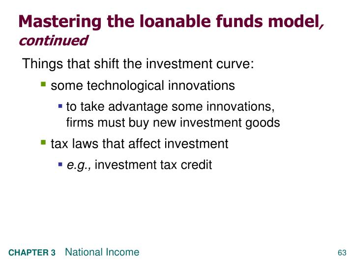 Mastering the loanable funds model