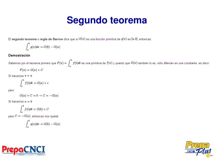 Segundo teorema