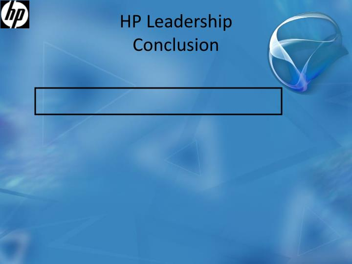 HP Leadership