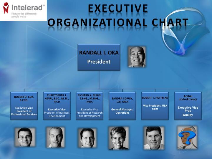 Executive Organizational Chart