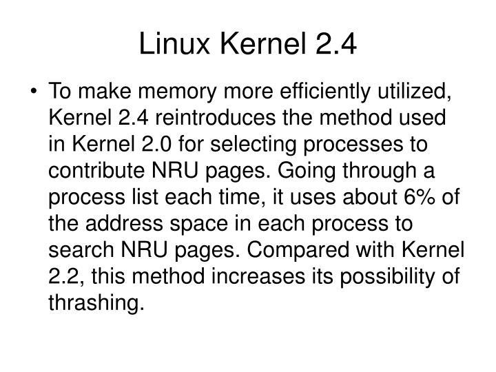 Linux Kernel 2.4