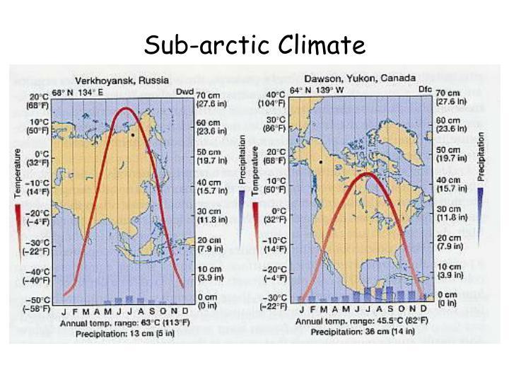 Sub-arctic Climate