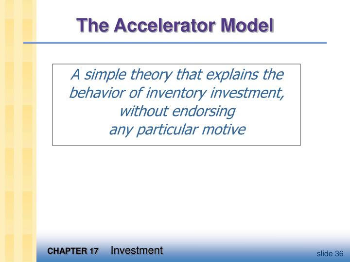 The Accelerator Model