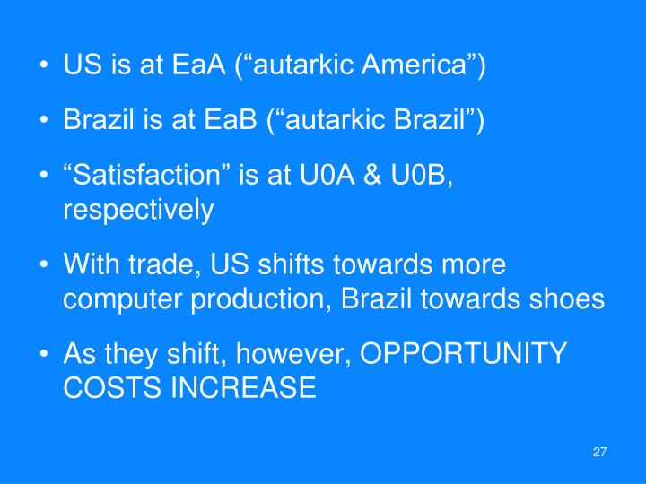 "US is at EaA (""autarkic America"")"