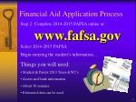 financial aid application process1