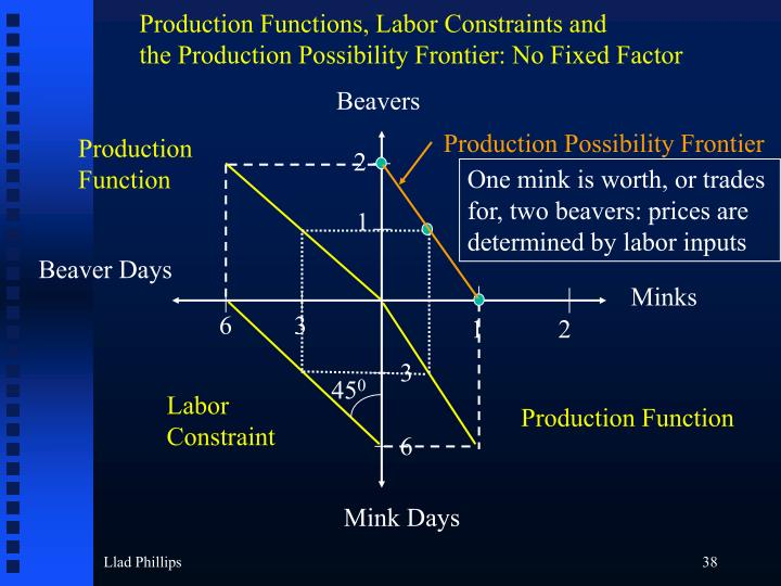 Production Functions, Labor Constraints and