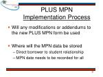 plus mpn implementation process2