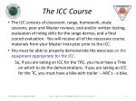 the icc course