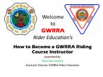 welcome to gwrra rider education s