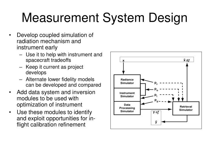 Measurement System Design