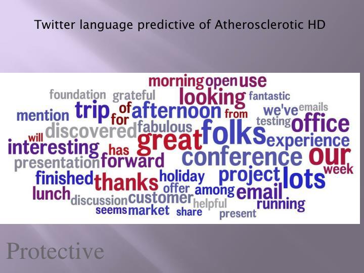 Twitter language
