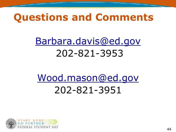 Barbara.davis@ed.gov