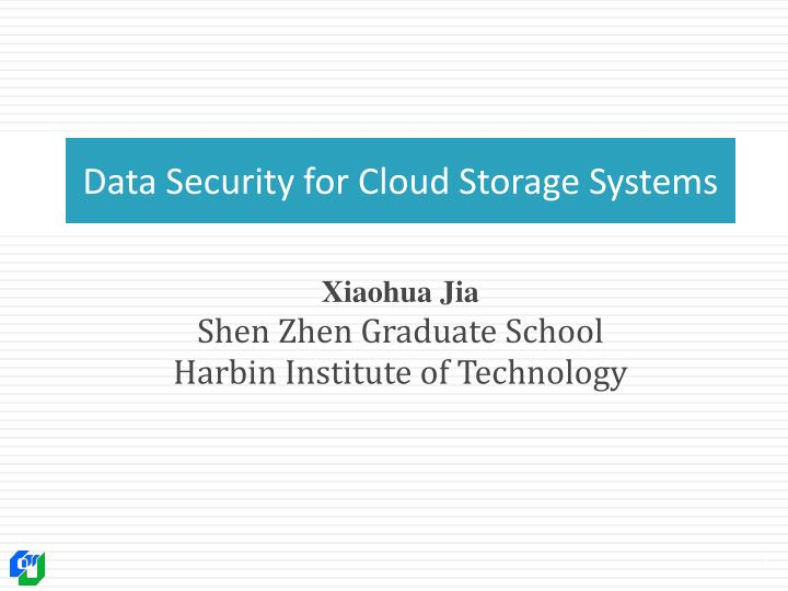 data security for cloud storage systems n.