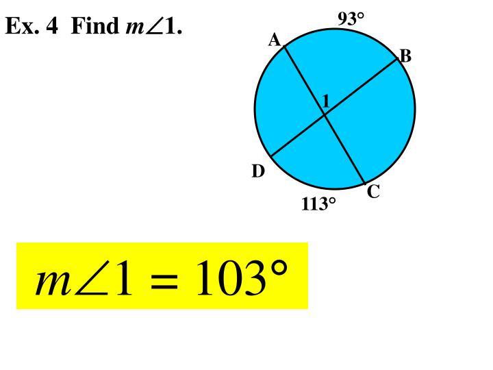 Ex. 4  Find