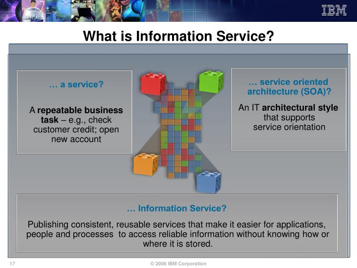 What is Information Service?