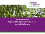 symforameander regionaal psychiatrisch centrum voor specialistische zorg