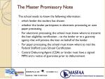 the master promissory note1
