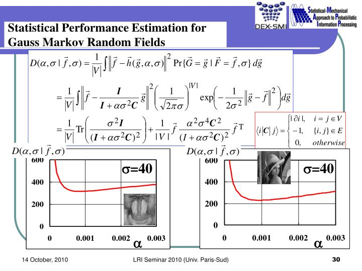 Statistical Performance Estimation for