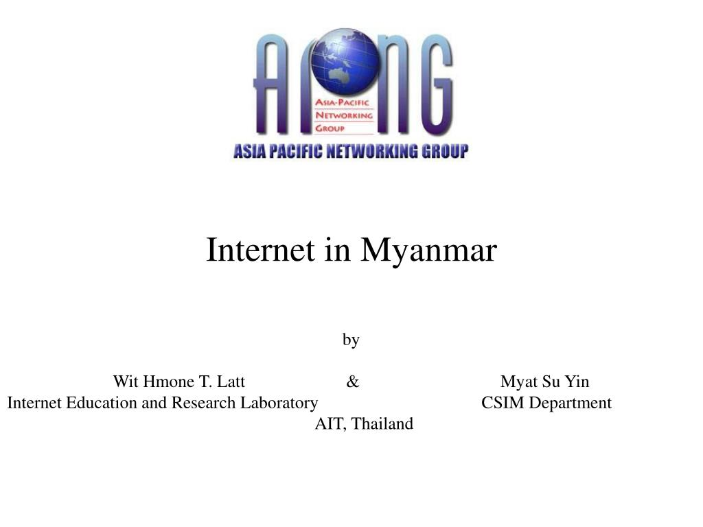 PPT - Internet in Myanmar PowerPoint Presentation - ID:3338596
