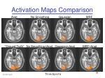 activation maps comparison1
