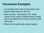 convection examples