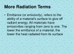 more radiation terms1