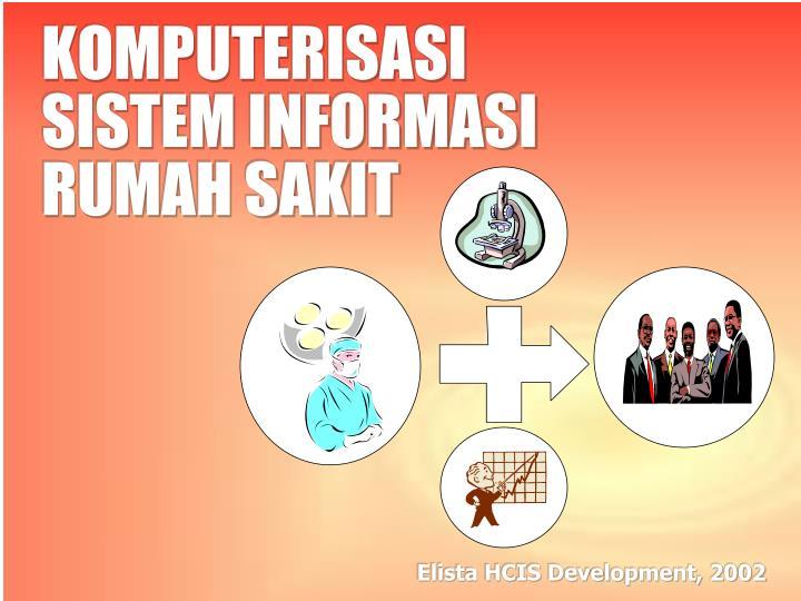 komputerisasi sistem informasi rumah sakit n.
