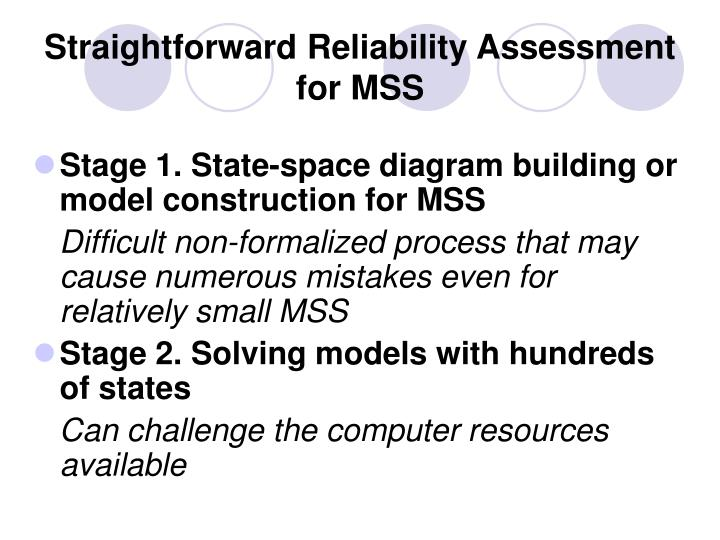 Straightforward Reliability Assessment