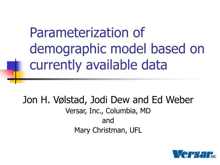 Parameterization of