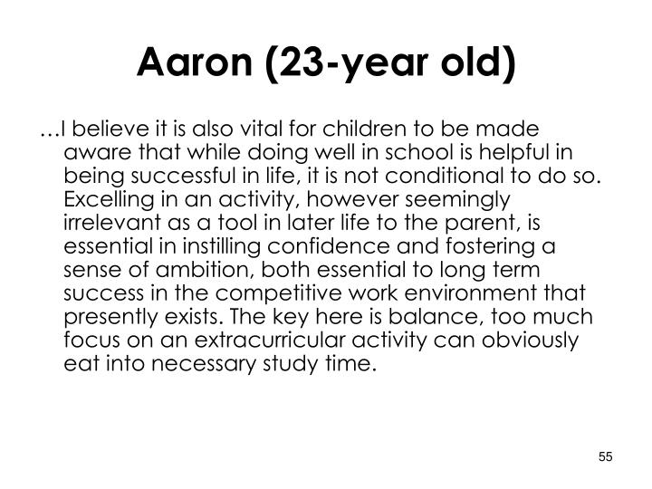 Aaron (23-year old)
