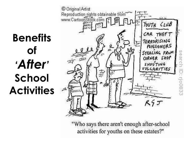 benefits of after school activities n.