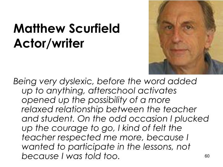 Matthew Scurfield
