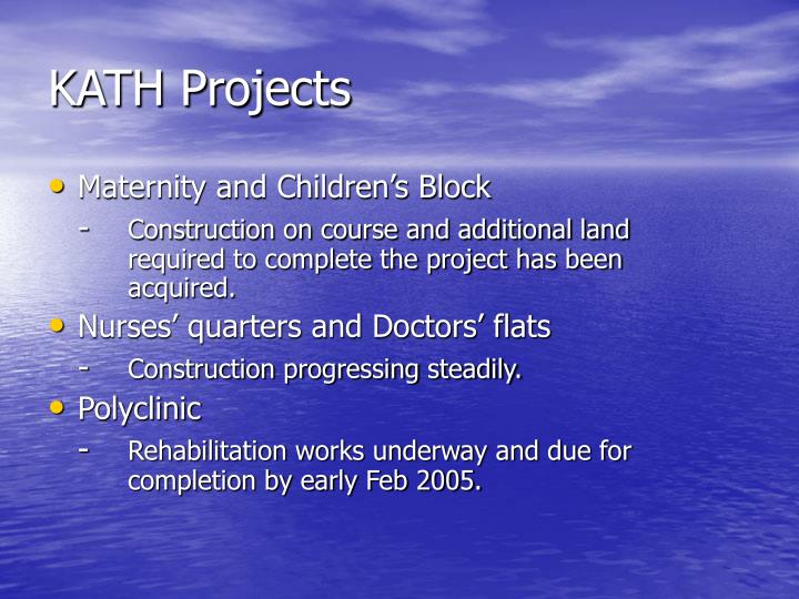 KATH Projects
