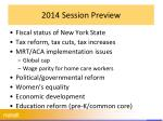 2014 session preview