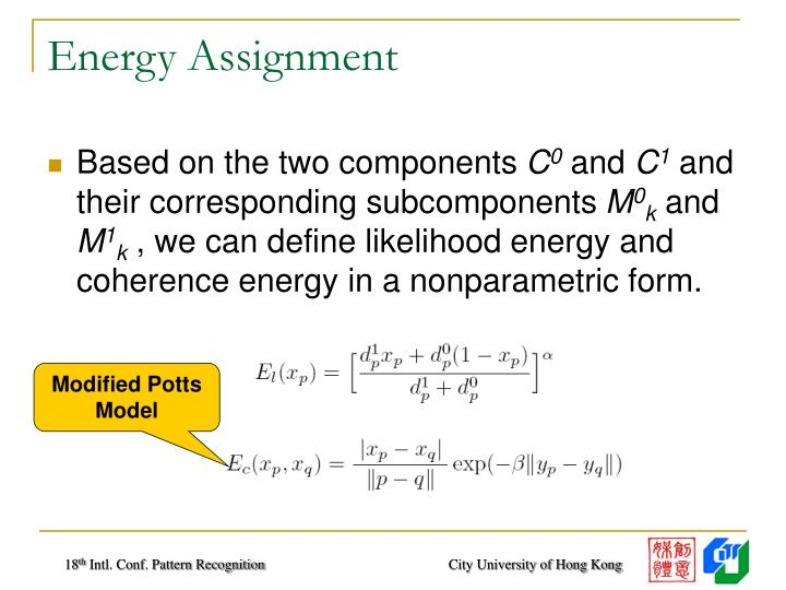 Energy Assignment