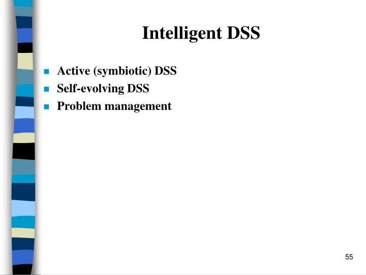 Intelligent DSS