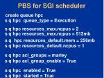 pbs for sgi scheduler1