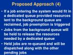 proposed approach 4